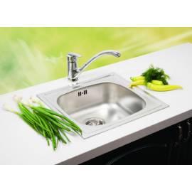 Кухненска мивка Quadro лен