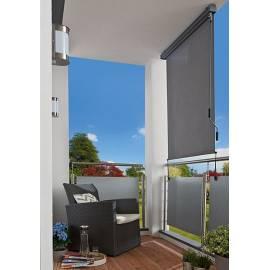 Imagén: Тента за тераса 1,4 x 2,5 м, с манивела, сива