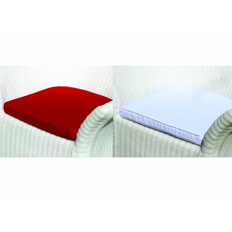 Възглавница за стол - кресло с визия на ратан, 63х70х78 см