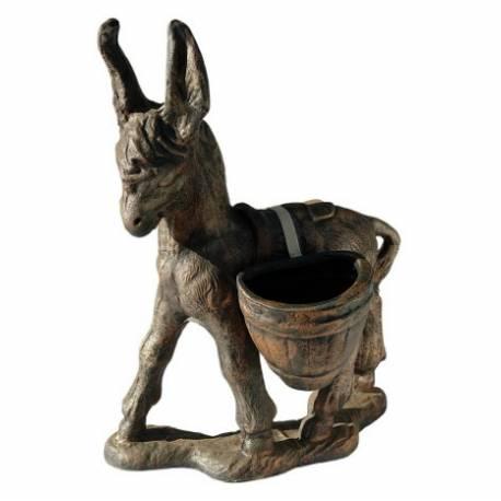 Декоративна саксия - Магаренце с дисаги 43х95х80