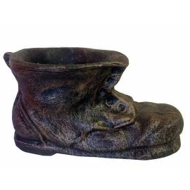 Декоративна саксия - Малка обувка 40х25х21