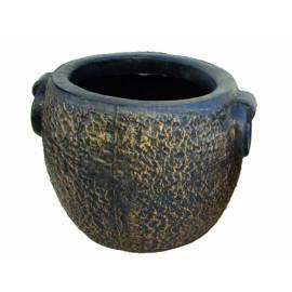 Саксия Kamnito М, Ø47 (42) ×34, имитация на камък и бетон
