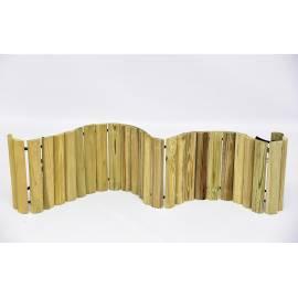 Дървени ролки за лехи - 2 x 30 x 150 см