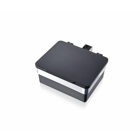 BLOMUS Кутия за салфетки / мокри кърпички - черна полирана - за монтаж