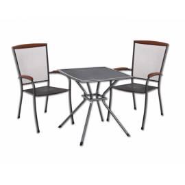 Метална маса и два стола - комплект за балкон