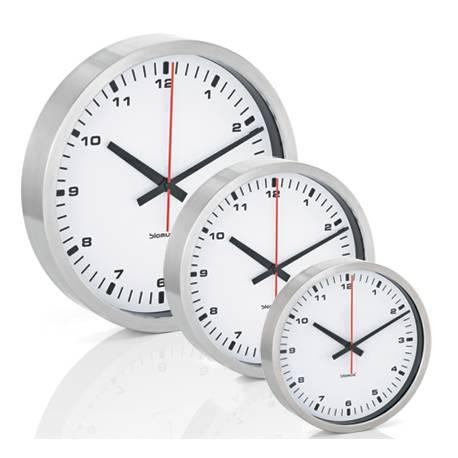 BLOMUS Стенен часовник ERA, бял - размер S