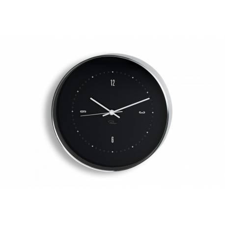 """PHILIPPI Часовник за стена """"TEMPUS"""" - BL2 - черен Ф 25 см"""