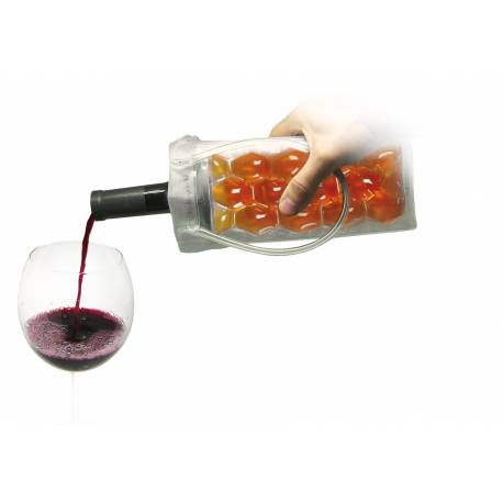 Охладител за бутилки чантичка - цветна - Vin Bouquet