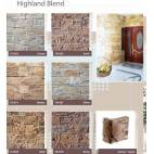 Highland Blend - Earth - декоративен облицовъчен камък