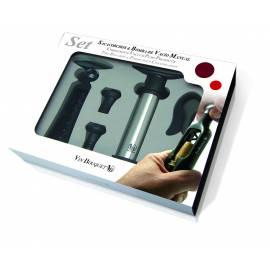 Vin Bouquet Сет тирбушон и вакуум помпа 5 - части