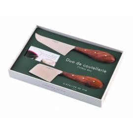 Комплект от 2бр. ножа за сирене + книжка