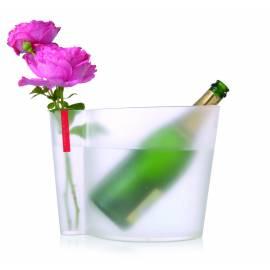 Шампаниера с ваза - плаксиглас
