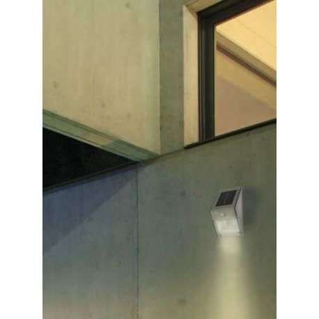 Фасаден солар със сензор, 4x0.05 W, 22 x11x11 см