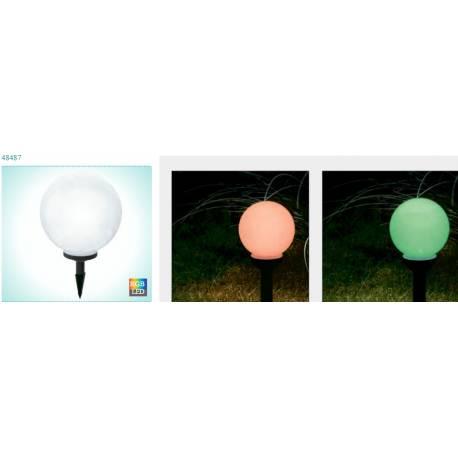 Соларна лампа - RGB кръгла 30 см, 1x0.08W