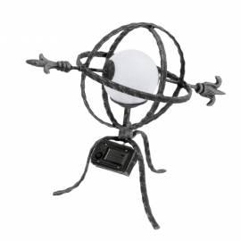 Соларна лампа - Стрела - 38x32x21 см, патинирана