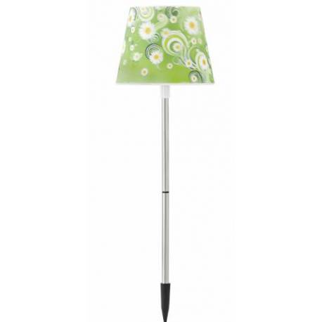 Соларna лампа, зелена