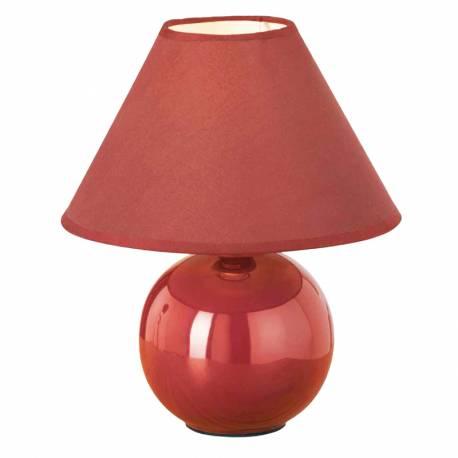 Настолна лампа - червена -1X40W - tuna