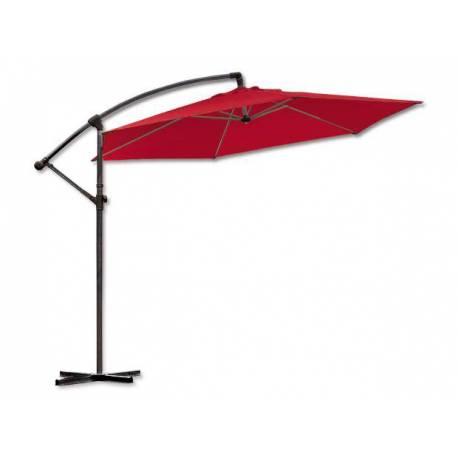 Градински чадър - тип камбана - червен