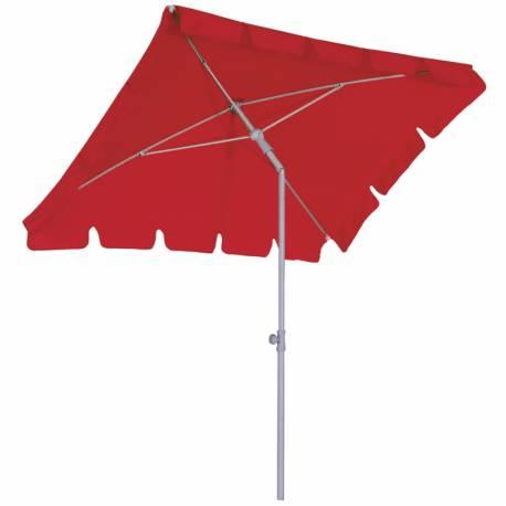 Балконен чадър 180 x 120 см - червен