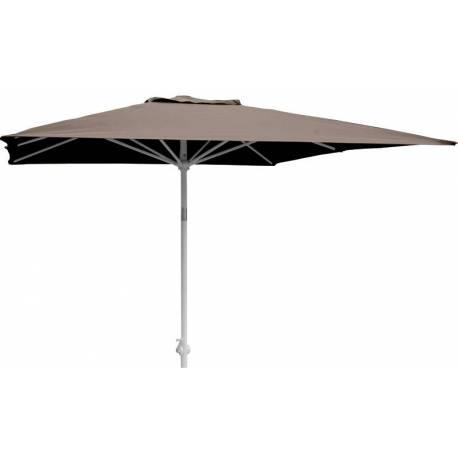 Градински чадър - 200x250 см, цвят - мока