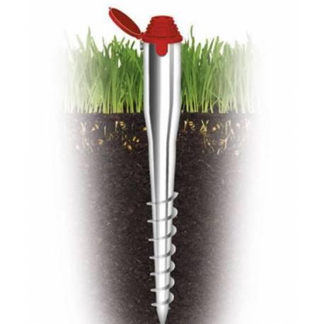 Стойка за градински сгъваем простор