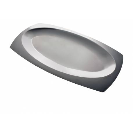 Плато за сервиране - стомана 18/10 - 45 x 25см - Herdmar