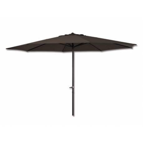 Градински чадър - 4 м, кафяв