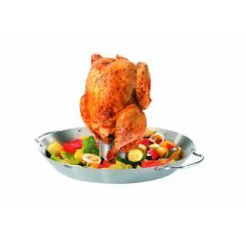 GEFU Сет прибор за печене на пиле + уок за зеленчуци