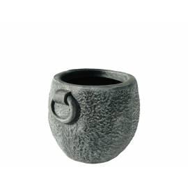 Саксия Kamnito L, Ø54 (48) × 40 см, имитация на камък и бетон