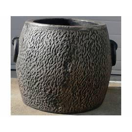 Саксия Kamnito XL, Ø58 (55) × 46 см, имитация на камък и бетон