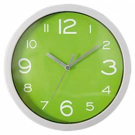Стенен часовник 20 см, PVC, ябълково-зелено