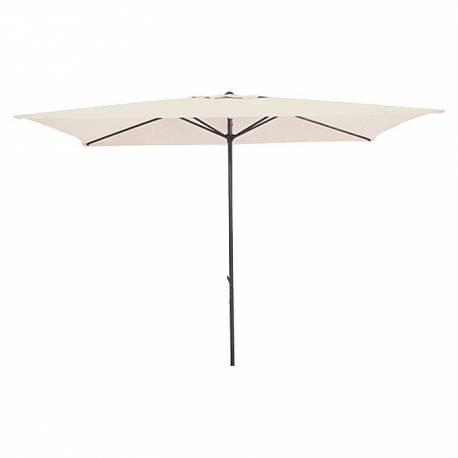 Градински чадър - 300x300 см, екрю