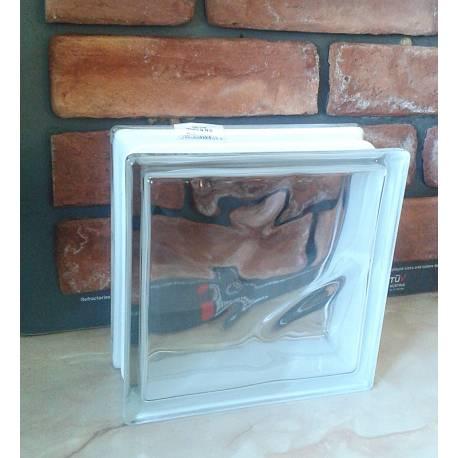 Стъклени тухли - прозрачни - 19x19x8 см