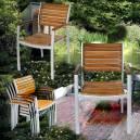Imagén: Дървено - алуминиев стол - масив