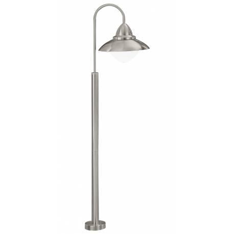Стояща лампа за градина 1xЕ27 Н1200 неръждаема стомана инокс  SIDNEY