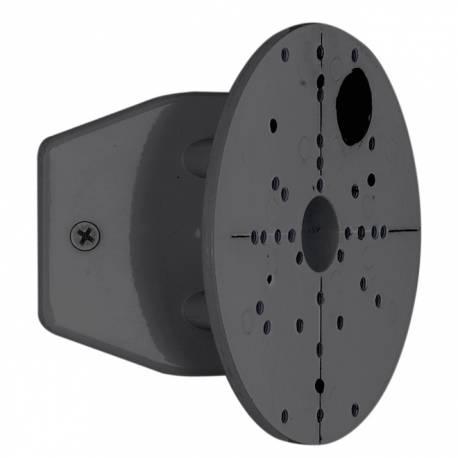 Стойка ъглова за външни лампи черна