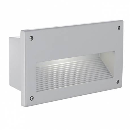 Осветително тяло за вграждане в стълби 1xxЕ14 сребро/сатенирано ZIMBA