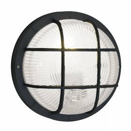 Външен фасаден аплик 1х кръг D185 / черно ANOLA