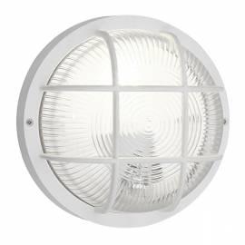 Външен фасаден аплик 1х кръг D185 /бяло ANOLA