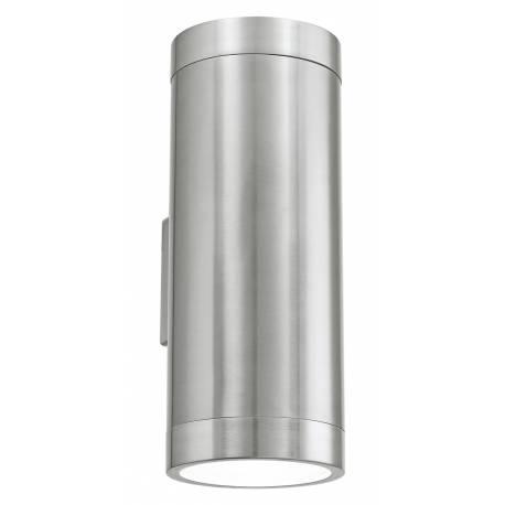 Външен фасаден аплик 2хE27 неръждаема стомана инокс  ASCOLI