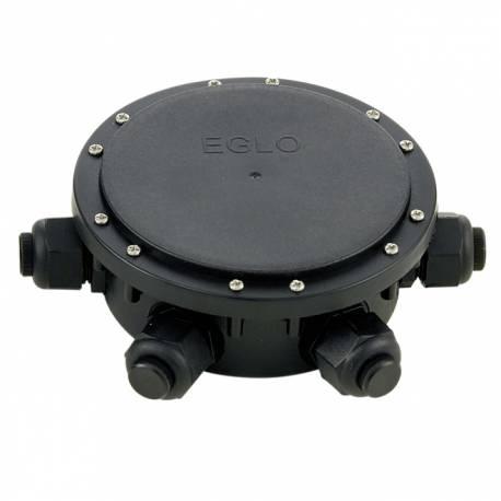 Влагоустойчива разклонителна кутия IP68 черна 6 изхода