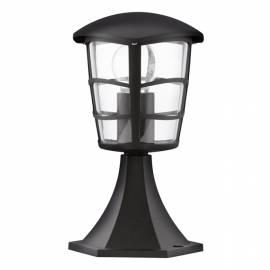 Външна стояща лампа 1хE27 черно ALORIA