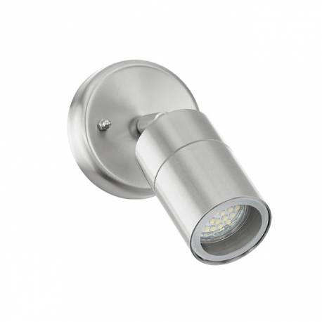 Външен фасаден аплик-LED 1хGU10 5W 400lm неръждаема стомана инокс STOCKHOLM 1