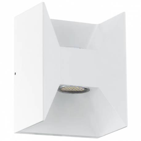 Външен фасаден аплик-LED 2х2,5W 360lm бяло MORINO
