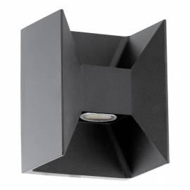 Външен фасаден аплик-LED 2x2,5W 360lm антрацит  MORINO