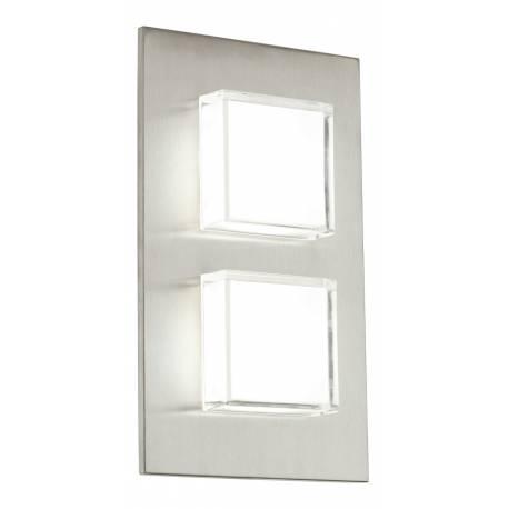 Външен фасаден аплик-LED 2x2,5W 2х160lm инокс  PIAS