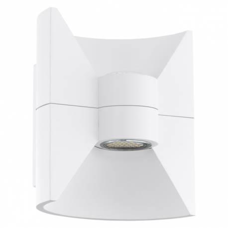Външен фасаден аплик-LED 2х2,5W 360lm бяло REDONDO
