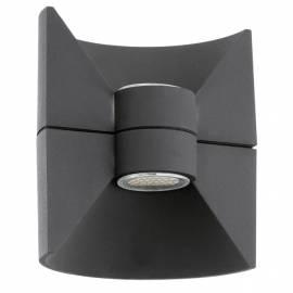 Външен фасаден аплик-LED 2х2,5W 360lm антрацит  REDONDO