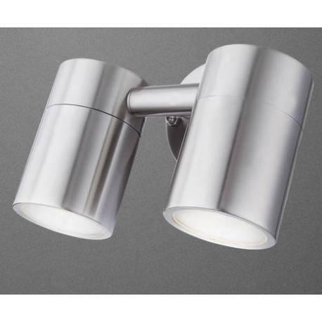 Външна лампа 2xGU10 35W, подвижна глава