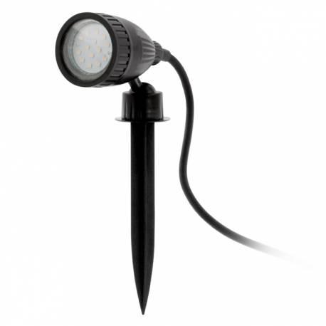 Външна лампа колче 1хGU10-LED 3W черноIP44 NEMA 1